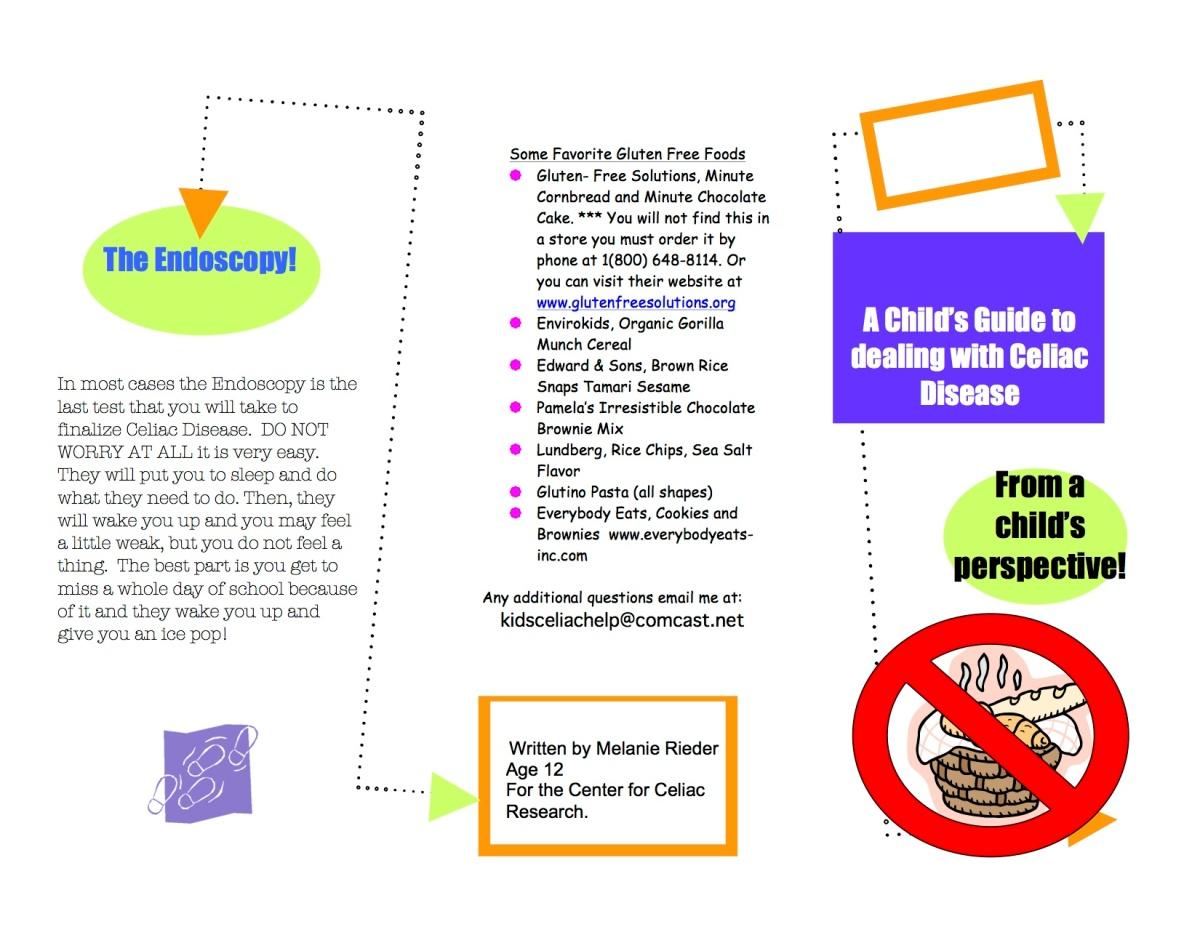 mels celiac brochure