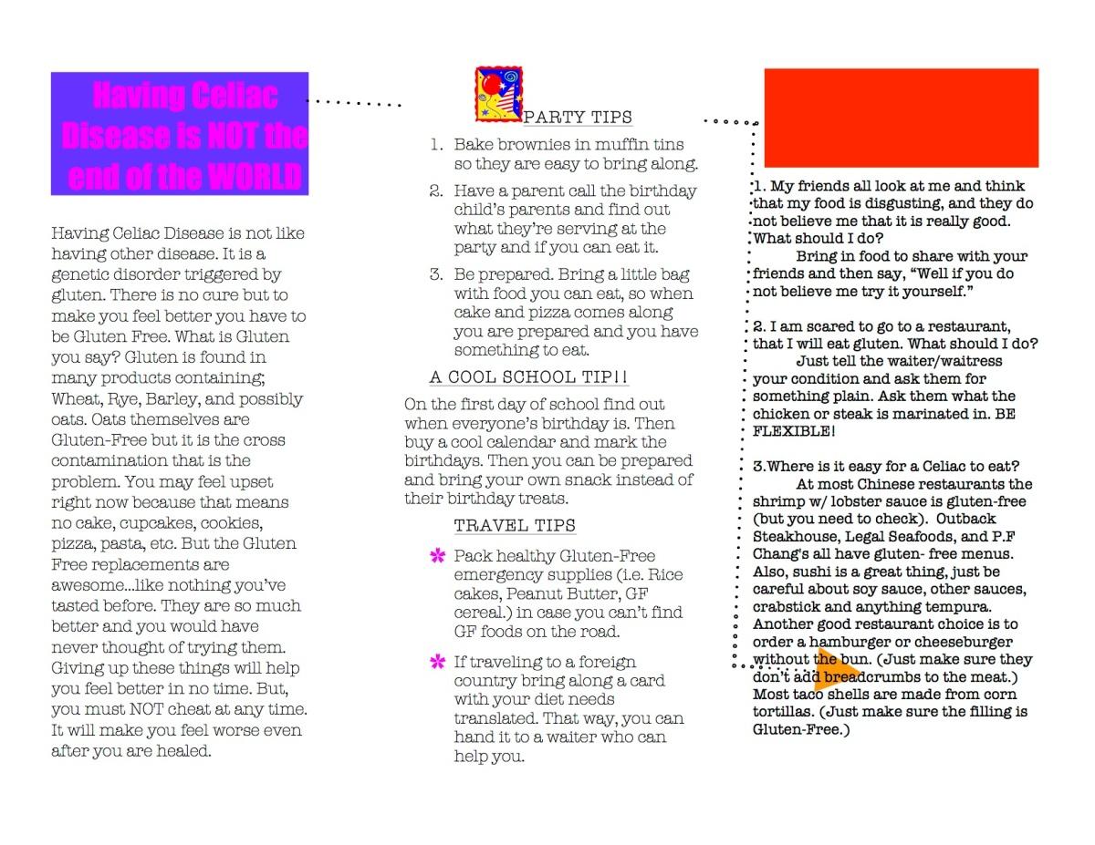 mels celiac brochure2